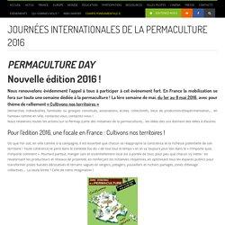 Journée internationale de la permaculture 2016 - Les Incroyables Comestibles