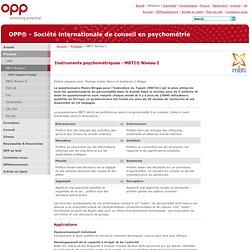 OPP® - Société internationale de conseil en psychométrie