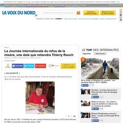 La Journée internationale du refus de la misère, une date que retiendra Thierry Rauch
