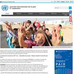 Journée internationale de la paix, 21 septembre