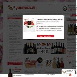 Gourmet Online Shop seit 2002 mit über 17.000 Delikatessen aus aller Welt׃ Champagner, Wein und internationale Spezialitäten online kaufen!