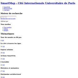 SmartMap - Cité Internationale Universitaire de Paris