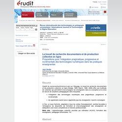 Revue internationale des technologies en pédagogie universitaire v7 n2 2010, p.48-59