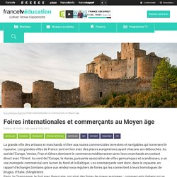 Foires internationales et commerçants au Moyen äge