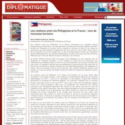 La Lettre Diplomatique - La revue des Relations internationales et diplomatiques depuis 1988 - Les relations entre les Philippines et la France: vers de nouveaux horizons
