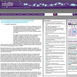 A LIRE ! Un recueil d'études de cas internationales de l'ISO Les avantages économiques des normes