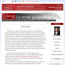 CV, Biographie Olivier ZAJEC, maître de conférences en science politique et relations internationales à l'université Jean Moulin - Lyon III , chef du cours de géopolitique de l'École de Guerre (Paris)