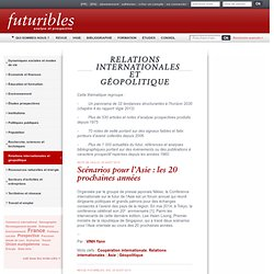 Relations internationales et géopolitique