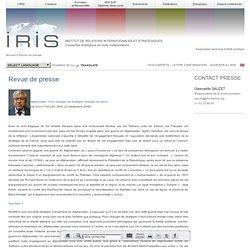 Institut de Relations Internationales et Stratégiques - M