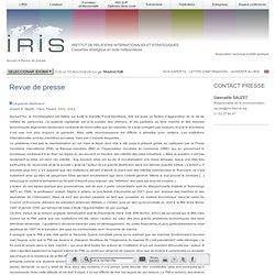 La grande désillusion - Joseph Stiglitz -IRIS