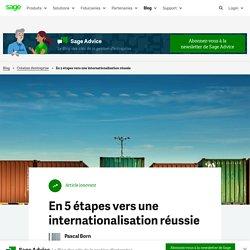 En 5 étapes vers une internationalisation réussie