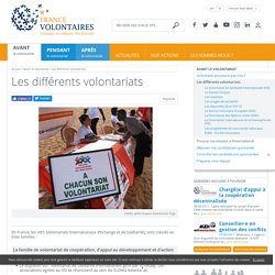 Guide des volontariats - France Volontaires