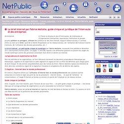 La loi et internet par Fabrice Mattatia, guide civique et juridique de l'Internaute et des entreprises