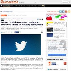 Twitter : trois internautes condamnés pour avoir utilisé un hashtag homophobe