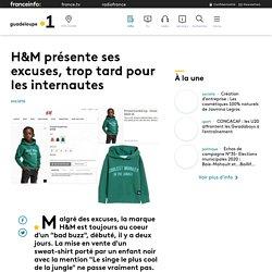 H&M présente ses excuses, trop tard pour les internautes - Guadeloupe la 1è