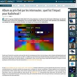 Album au prix fixé par les internautes : quel fut l'impact pour Radiohead ?