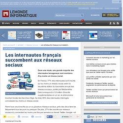 Les internautes français succombent aux réseaux sociaux