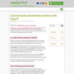 Internautes cherchent contenu pratique, interactif