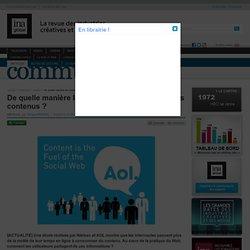 Communication & Publicité - Article - De quelle manière les internautes partagent-ils les contenus ?