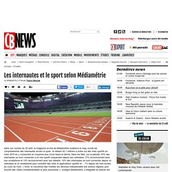 Les internautes et le sport selon Médiamétrie