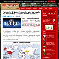 Protocollo di Kyoto: accordo internazionale per contrastare il cambiamento climatico