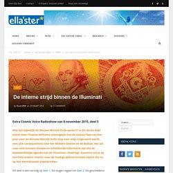 De interne strijd binnen de Illuminati - Ellaster
