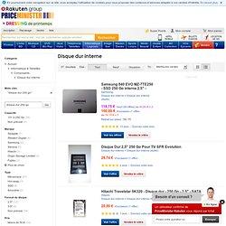 disque dur 250 go - Achat et Vente de Disque dur neuf et d