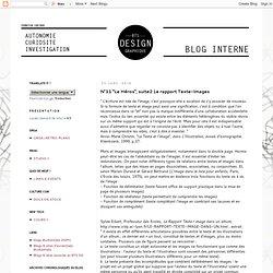 """N°11 """"Le Héros"""", suite2 Le rapport Texte-Images"""