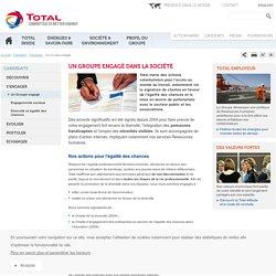Un Groupe engagé : plans d'action internes, chartes et partenariats