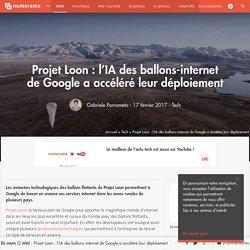 Projet Loon : l'IA des ballons-internet de Google a accéléré leur déploiement - Tech