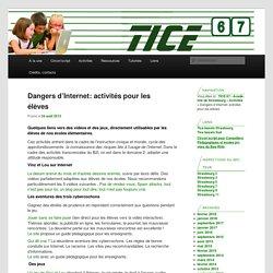 Dangers d'Internet: activités pour les élèves