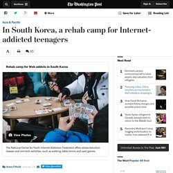 In South Korea, a rehab camp for Internet-addicted teenagers