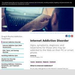 GREGORY Christina. Internet Addiction Disorder [en ligne]. [consulté le 6 février 2017]