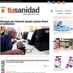 Navegar por Internet ayuda a poner freno al alzhéimer