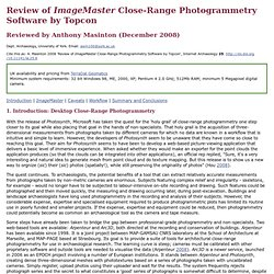 Internet Archaeol. 25. Review of ImageMaster. Anthony Masinton