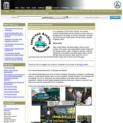 Internet Archive: Bookmobile