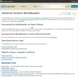 Internet Archive BookReader