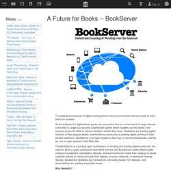 Internet Archive: A Future for Books