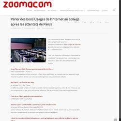 Parler des Bons Usages de l'Internet au collège après les attentats de Paris?