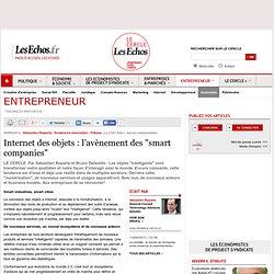 """Internet des objets : l'avènement des """"smart companies"""""""