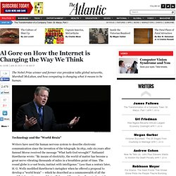 Al Gore: Internet is Changing Thinking