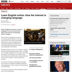 Learn English online: How the internet is changing language
