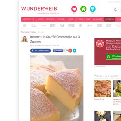 Internet-Hit: Cheesecake aus 3 Zutaten