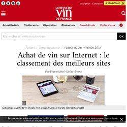 Achat de vin sur Internet: le classement des meilleurs sites