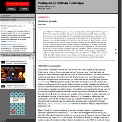 D'Internet au web - PUM - Collection en libre accès
