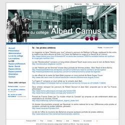 Site internet du collège Albert CAMUS de DREUX - 5e : les pirates célèbres