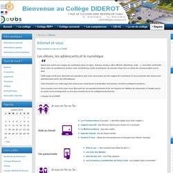 Internet et vous » Collège Diderot