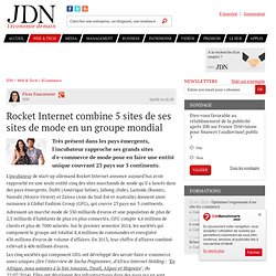 Rocket Internet combine 5 sites de ses sites de mode en un groupe mondial