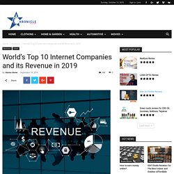 World's Top 10 Internet Companies and its Revenue in 2019