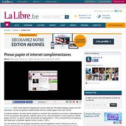 Presse papier et internet complémentaires